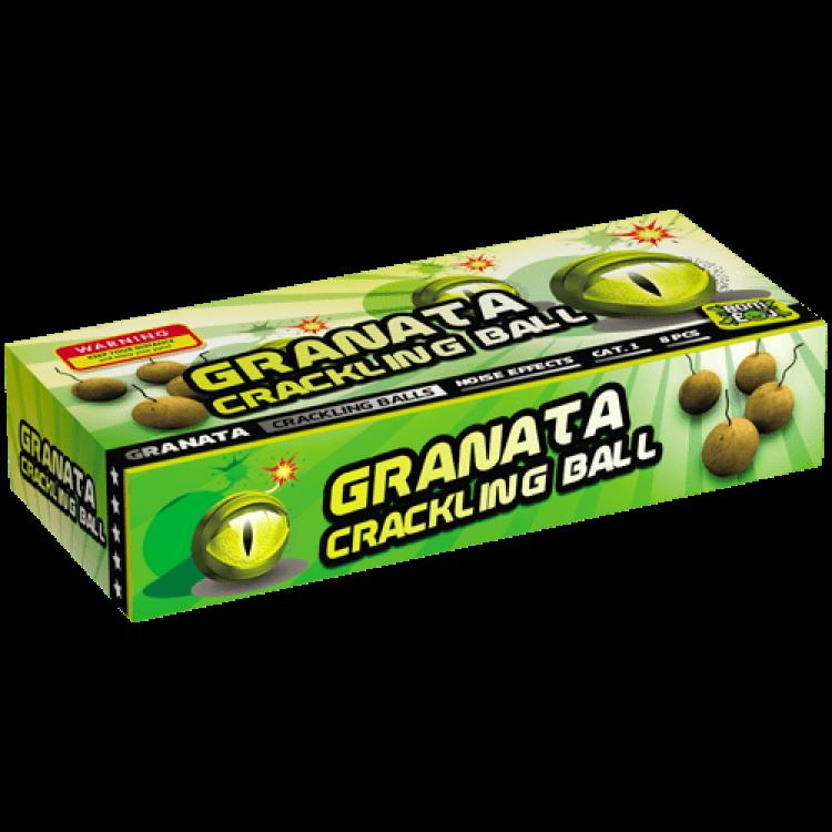 Granata Crackling Paper Ball 8 Stuks