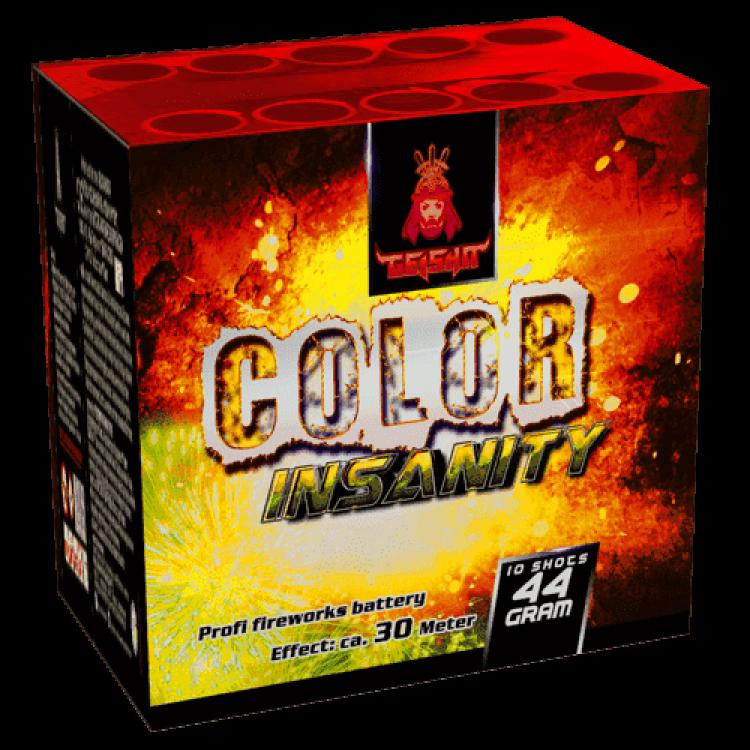 Aftershock Color Insanity 1+1 Gratis